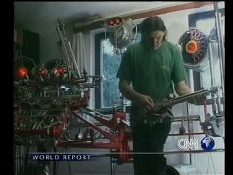 MUSIC AND ART OF JUNK (THE SPIRIT IN THE MACHINE) CNN 2000
