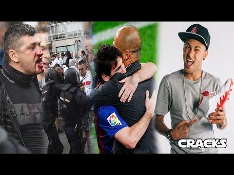 Ultras desatan CAOS en MADRID | PEP revela por qué MESSI no fue al City | NEYMAR estrenará botas