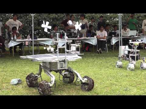 JAXA Space Research Robots Demo ~ JAXA 宇宙探査ロボット デモンストレーション