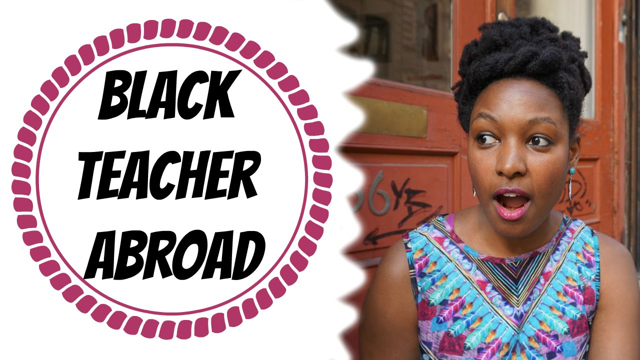 Black Teacher Abroad Prejudice Discrimination