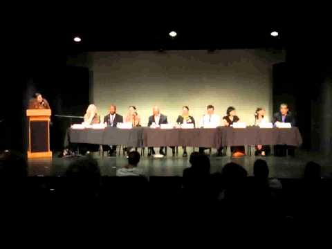 SFUSD Board of Education Candidate Forum 10.17.12 - Audience Questions