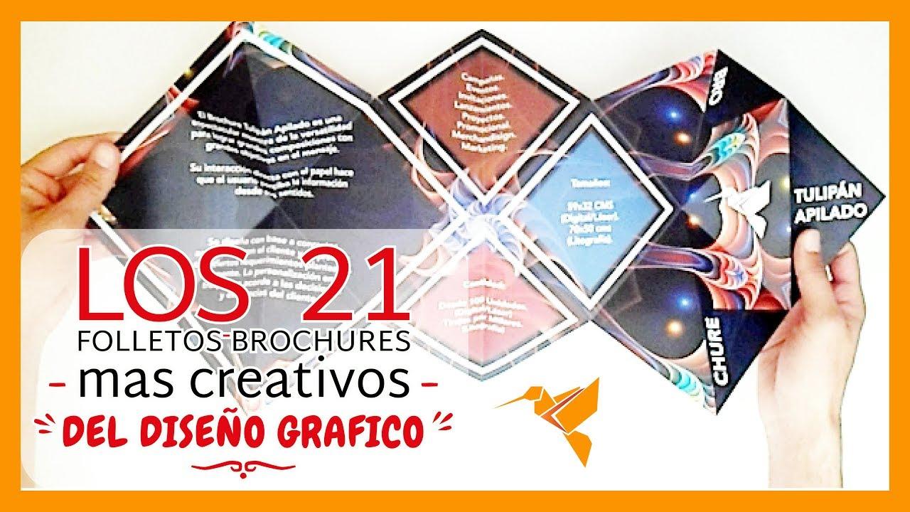 LOS 21 FOLLETOS MAS CREATIVOS DEL DISEÑO GRAFICO - IDEAS CREATIVAS ...