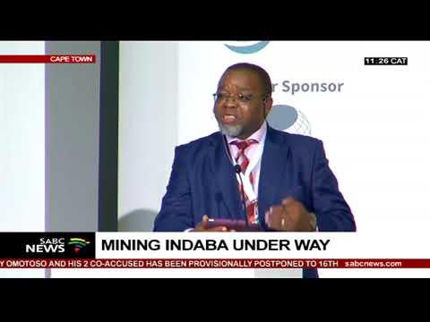Mining Indaba Underway