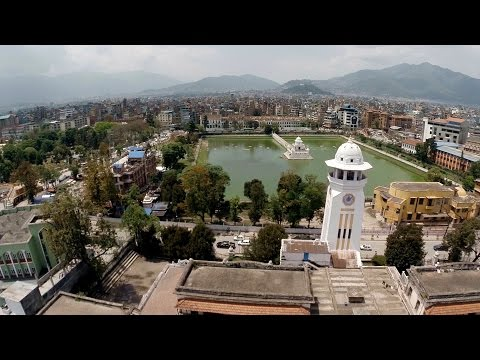Kathmandu drone video - before the 2015 Nepal earthquakes