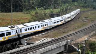 Kereta Api Taksaka - Gunung Lurah (Daop V Purwokerto)