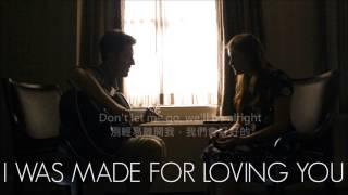 Troi Kelly-I was made for loving you 生來注定愛你 feat. Ed Sheeran (中英歌詞/中文)