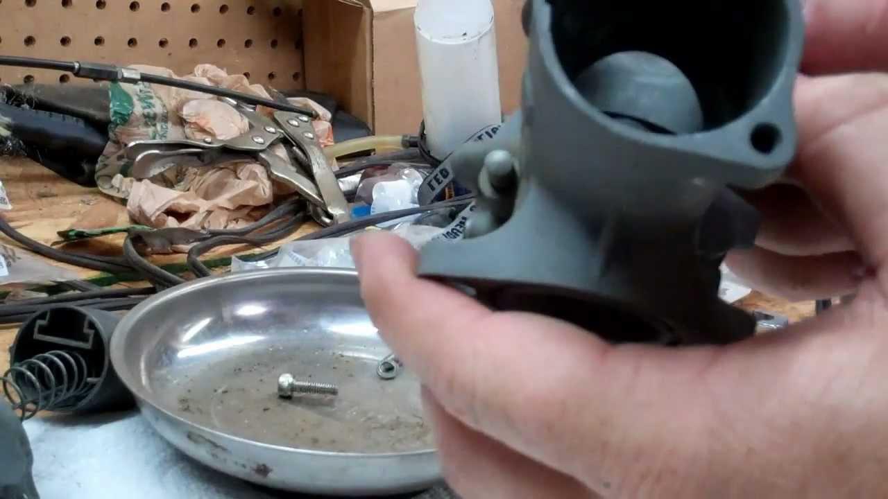 Part 1 - Amal 930 Carburetor Cleaning - Norton Commando 850