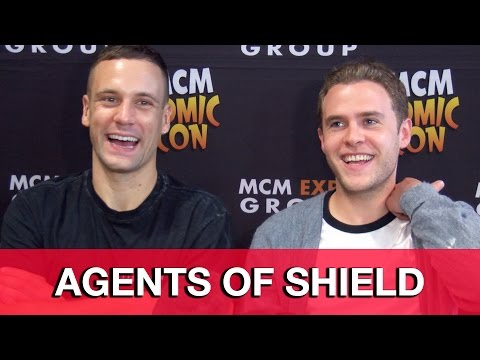 Agents of SHIELD Season 3 Fitz & Hunter   Iain De Caestecker & Nick Blood