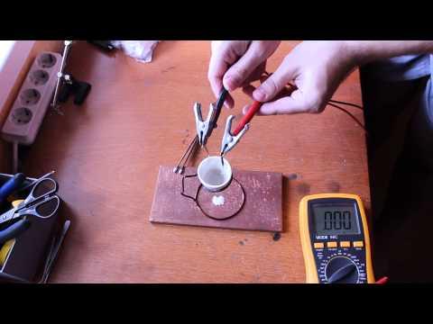 DIY Molten salt battery