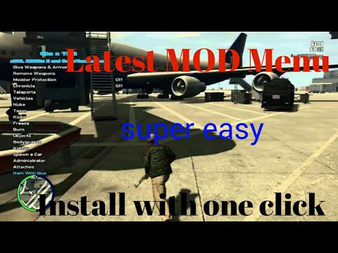 How to install GTA iv latest mod menu