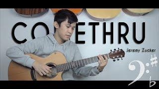comethru - Jeremy Zucker   Fingerstyle Guitar Cover (Free Tab)