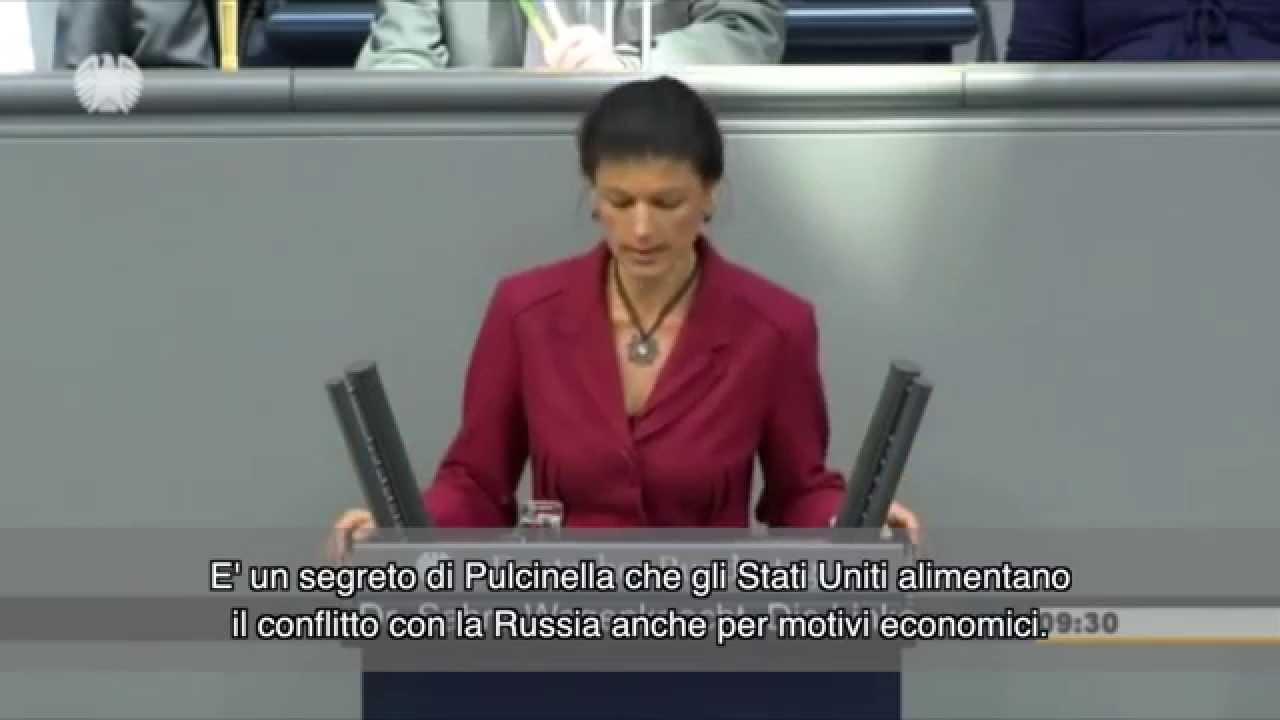 """""""Frau Merkel, con gli USA non andiamo da nessuna parte"""""""