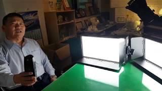 이장원 교수의 스튜디오 평판 LED 조명 100w, 2…