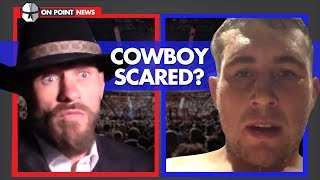 Cerrone Admits He's 'Scared', Till Returns With Weird Video, Lesnar Hates New PPV Model