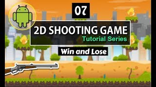 unity 2d android shooting game tutorial in urdu - hindi [07]