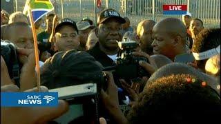 Walking with President Ramaphosa
