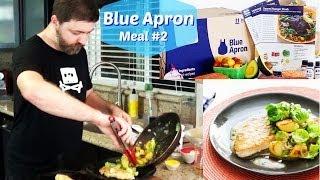 Blue Apron Review, Meal #2 Lemon Thyme Turkey Cutlets