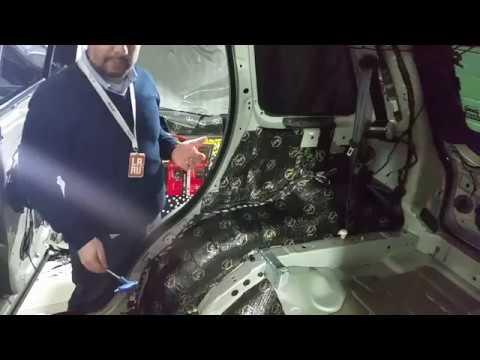 Шумоизоляция Range Rover Sport Часть 2