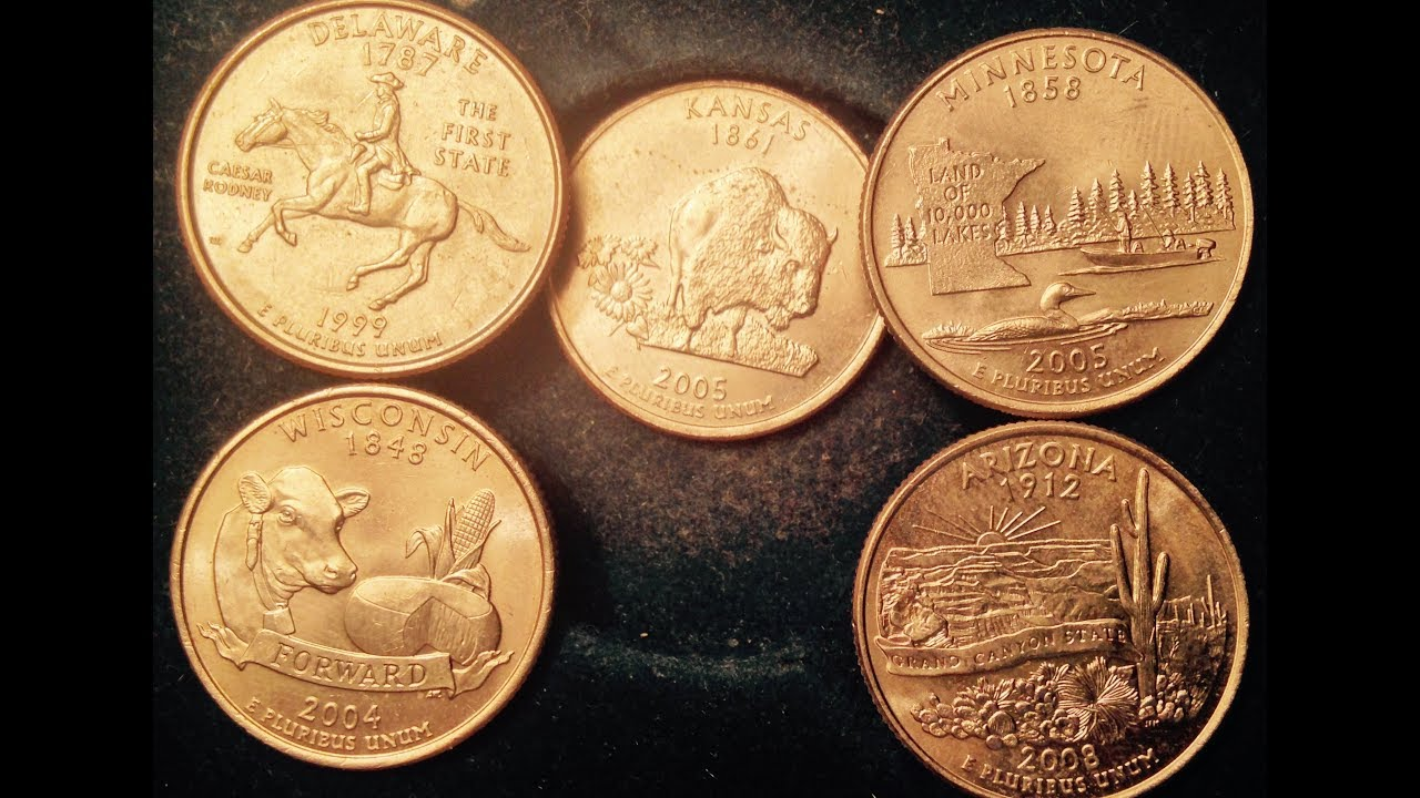State Quarter Error Coins To Look For
