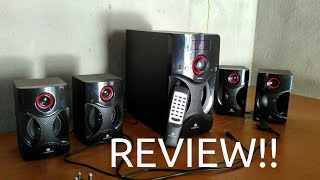 Zebronics BT4440RUCF 4.1 Channel Bluetooth Speakers REVIEW | Worth It!!