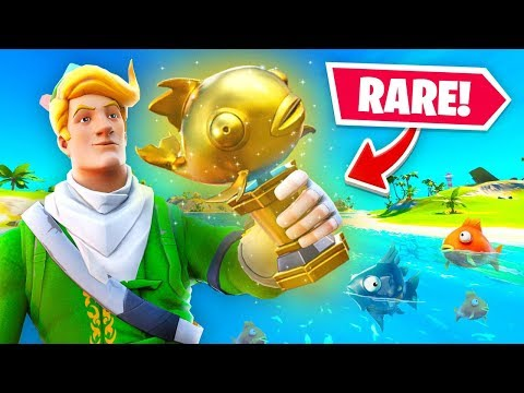The *RARE* Mythic Goldfish In Fortnite (1 In 1,000,000 Droprate)
