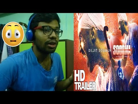 Soorma Official Trailer|Diljit Dosanjh,Taapsee Pannu,Angad Bedi|Reaction & Review