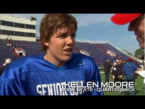 Kellen Moore 2012 Senior Bowl Interview
