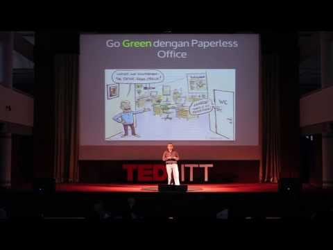 The 90% of paperless: Yani Dama Putera at TEDxITT
