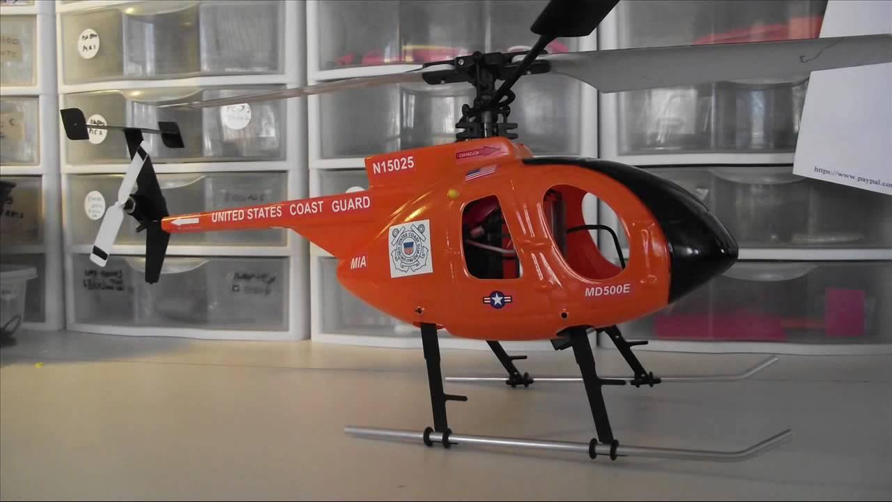E-Flite Blade 120 S and 120SR - **** MIA MD500E Scale Fuselage Body *****