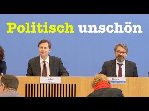 6. März 2019 - Bundespressekonferenz - RegPK