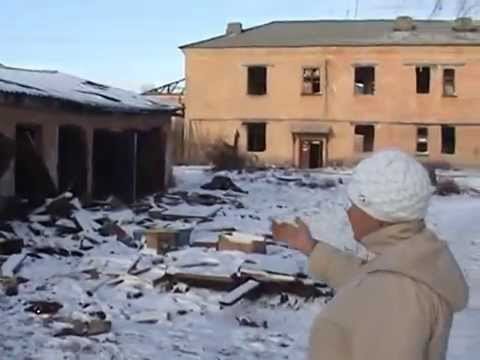 Путинский п.Роза или последствия переселения поселка...