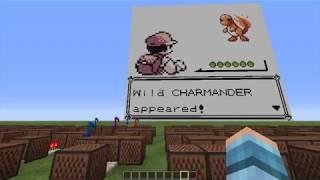 Pokémon Red Battle Theme - Minecraft Note Block Song