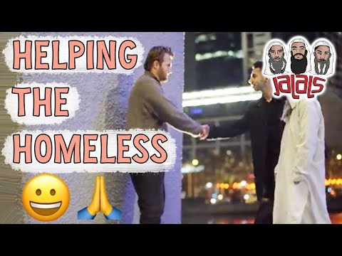 HELPING THOSE IN NEED
