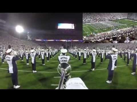Penn State Blue Band GoPro White Out Pregame vs Ohio State 102514