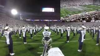 Penn State Blue Band GoPro White Out Pregame vs. Ohio State 10/25/14