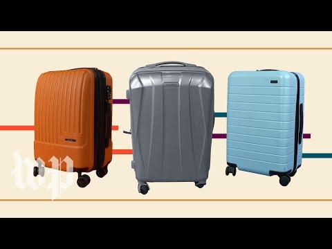 Suitcase reviews of Samsonite, Away and Calpak