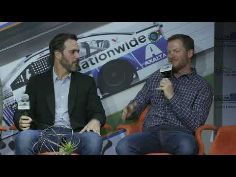Dale Earnhardt Jr. shares a funny story about bike riding and spandex