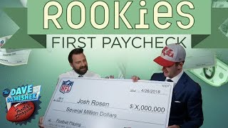 NFL Rookies Reveal What They Will Buy with their First Paycheck | 2018 NFL Draft