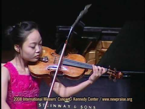 O Lord My God when I in Awesome Wonder 주하나님 지으신 모든 세계 (for violin and piano)