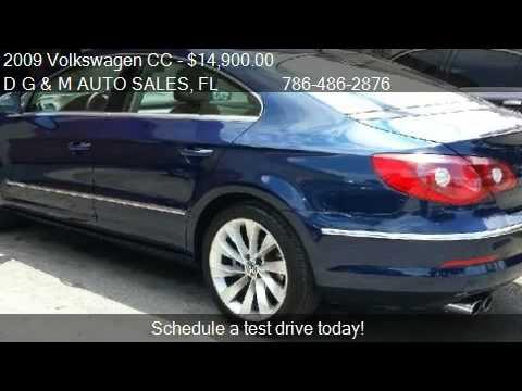 2009 Volkswagen CC VR6 Sport - for sale in Medley, FL 33166