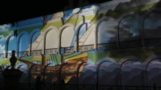Campeche pirates videomapping