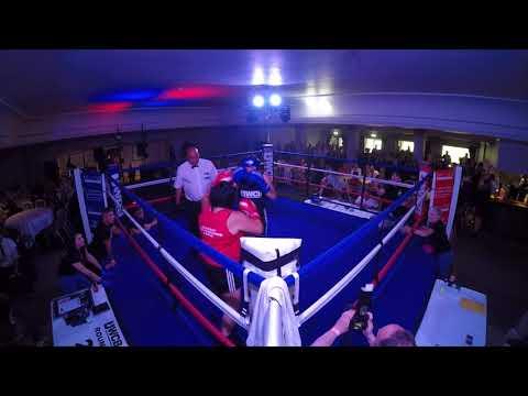 Ultra White Collar Boxing   Gloucester   Mandy Lugg VS Becky