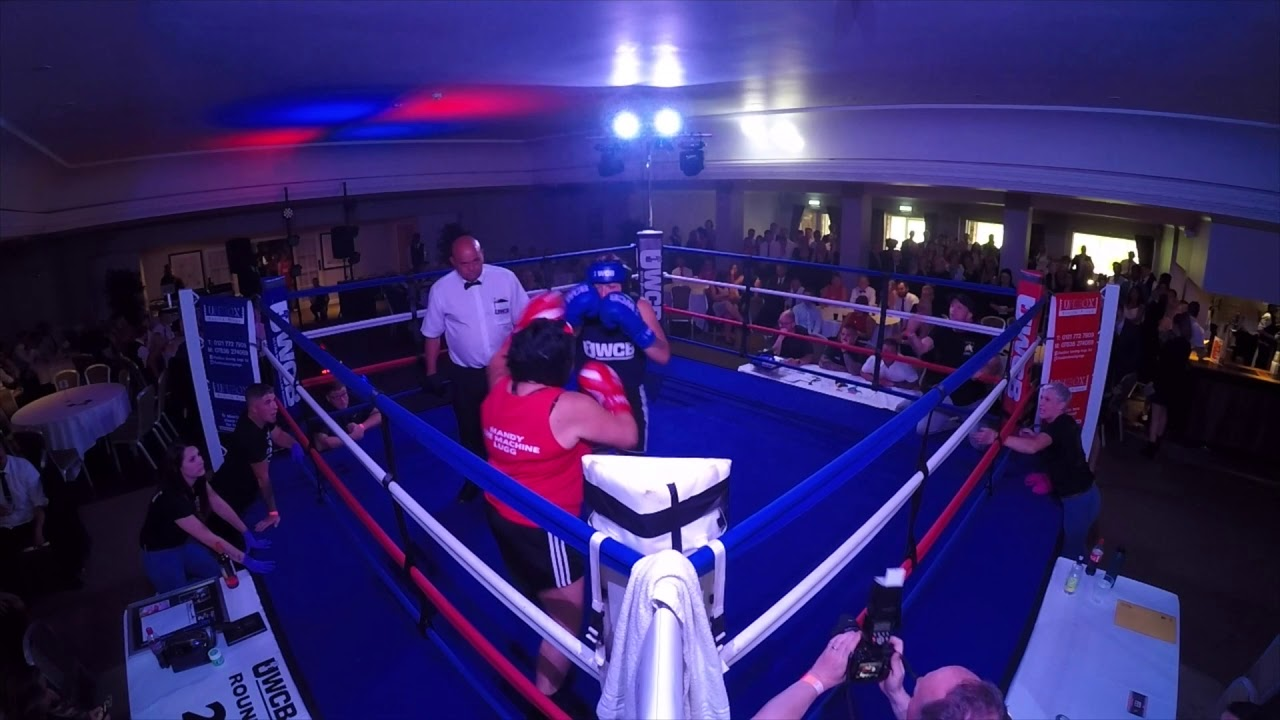 Ultra White Collar Boxing | Gloucester | Mandy Lugg VS Becky Campbell