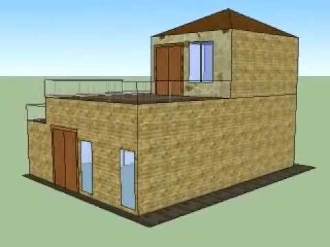 Dream house 1 google sketchup youtube for Dream house 3d