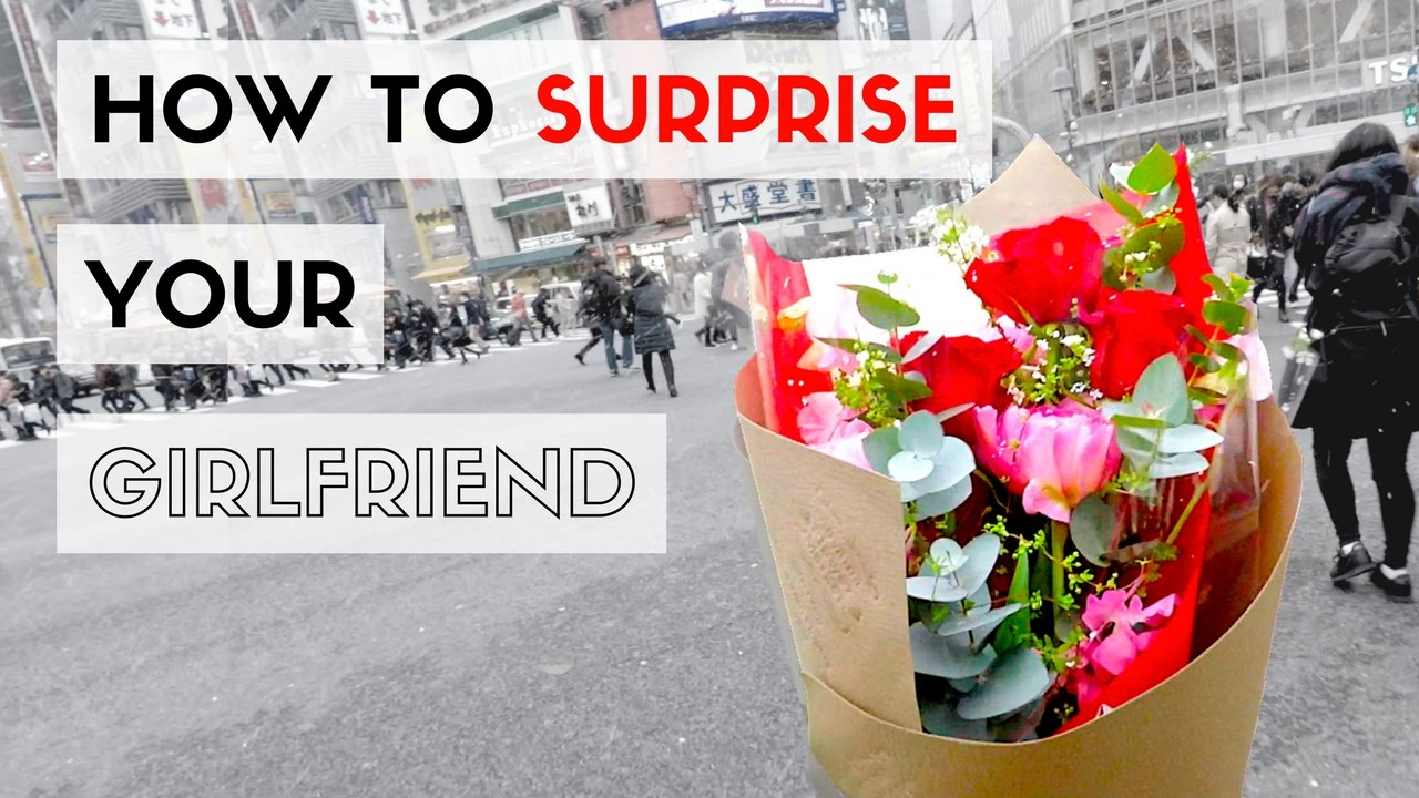 How to surprise your girlfriend on her birthday youtube how to surprise your girlfriend on her birthday izmirmasajfo