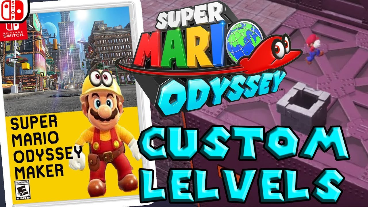 Super Mario Odyssey Maker A Look Into Odyssey Custom Levels