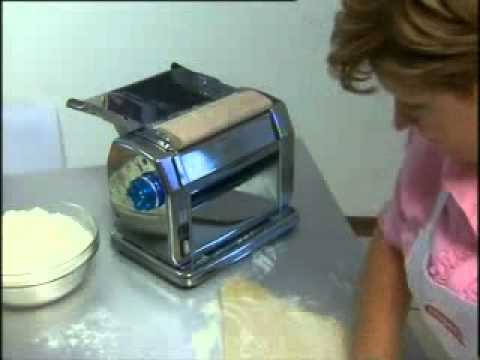 Maquina de pasta el ctrica imperia youtube - Maquina para hacer pastas caseras ...