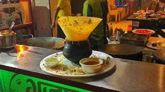 Unique Matka Mysore Chula Dosa  | Indian Street Food at Shree Gajanan Surti Fancy Dosa & Snacks