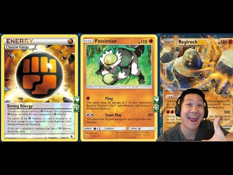 Sun & Moon Budget FIGHTING PASSIMIAN Deck, Fighting Tech Build, FAST and Easy to Use