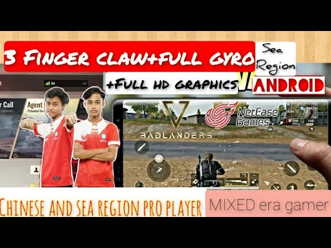 Badlanders gameplay with sea region pro player, Agent call level gameplay, full hd graphics+gyro